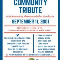 1st Annual Community Tribute